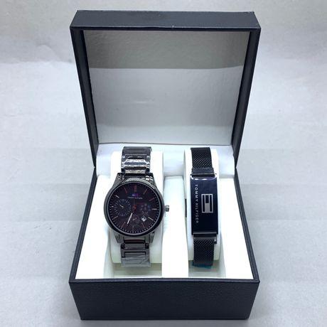 Мужские часы и браслет