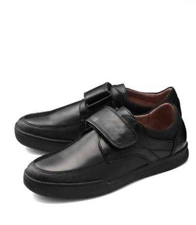 Туфли подростковые 36 размер кожа