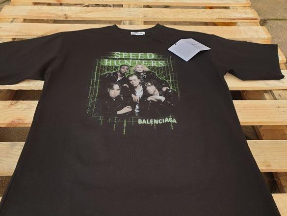 Balenciaga Speed Hunters мъжка тениска S-M