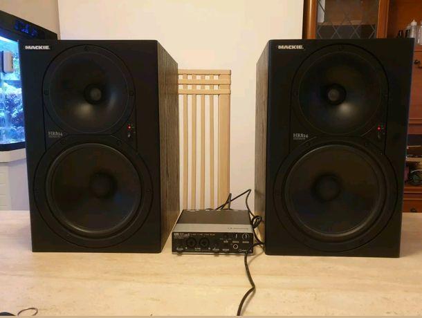 Monitoare studio,active Mackie hr 824 mk1 (dynaudio, genelec,adam)