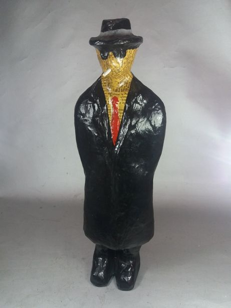 Fumatul pasiv țigaretul Man in black Colombo macheta de colecție