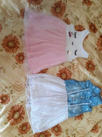 Две детски рокли
