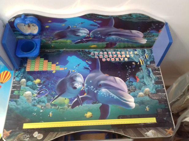 Birou Educativ pentru copii model delfini