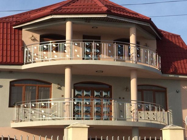 Balustrada de inox