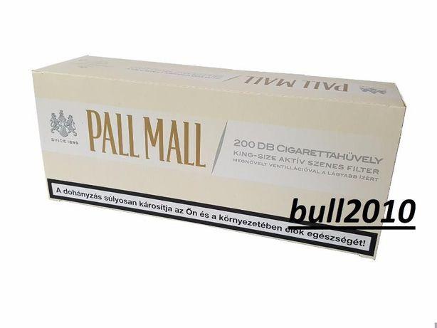 Tuburi, filtre tigari Pall Mall Alb