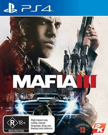 Joc PS4 - Mafia 3 + harta originala, playstation 4