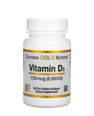 Витамин Д3 5000  МЕ