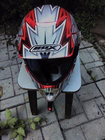 Топ каса за мотор, колан Monster, каска - шлем за пистов, крос, ендуро