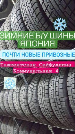 175/65/14 зимние б/у шины из Японии почти новые