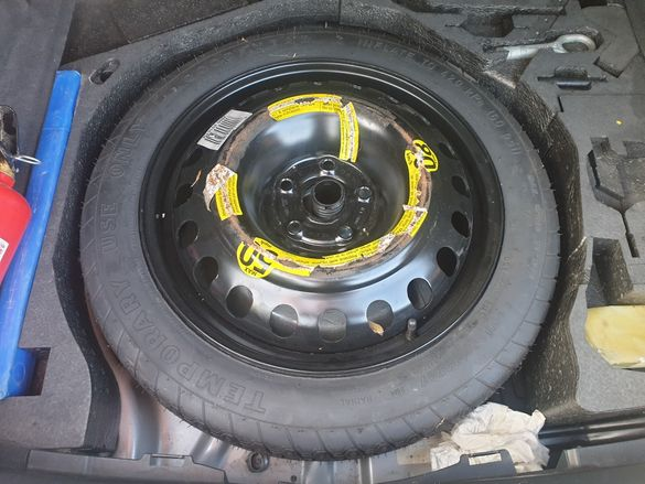 "Резервна гума(патерица) 17"" 5x112 125/80/17"