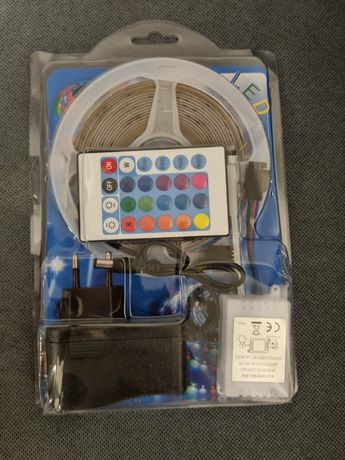 Banda LED 5050 RGB 5m cu telecomanda
