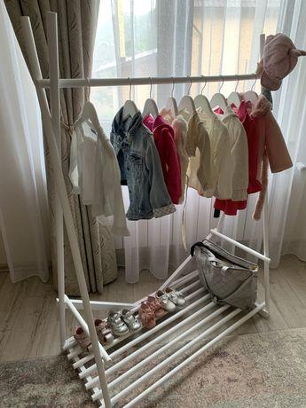 Cuier/suport umerase -din lemn- copii