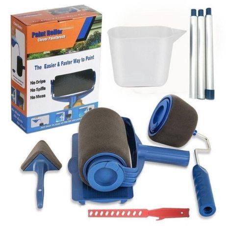 Професионален комплект валяци за боядисване - 3бр. валяк + резервоар