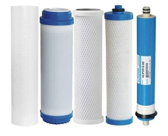 Замена фильтров для воды