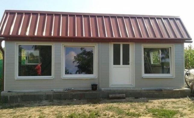 Vand case Realizam diferite modele pe structura metalica sau din lemn