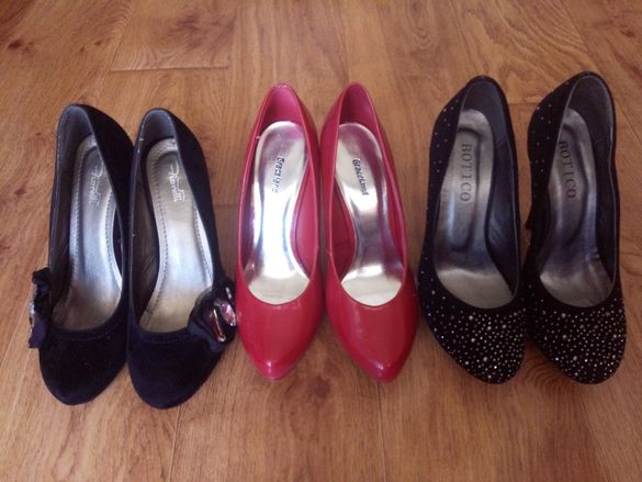 Дамски обувки. Разпродажба