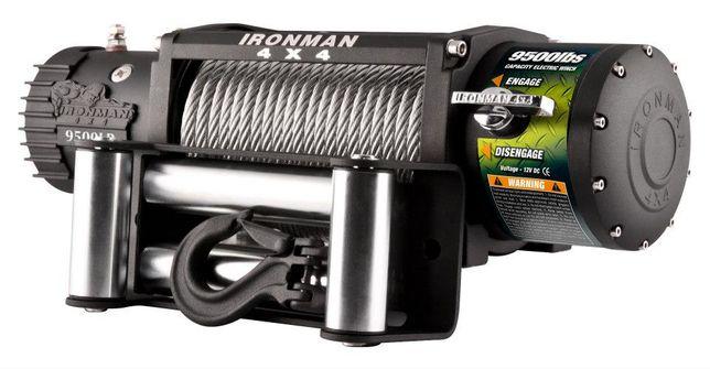 Troliu Ironman4x4 cablu otel 9500lbs 4310kg wireless, garantie 5 ani,