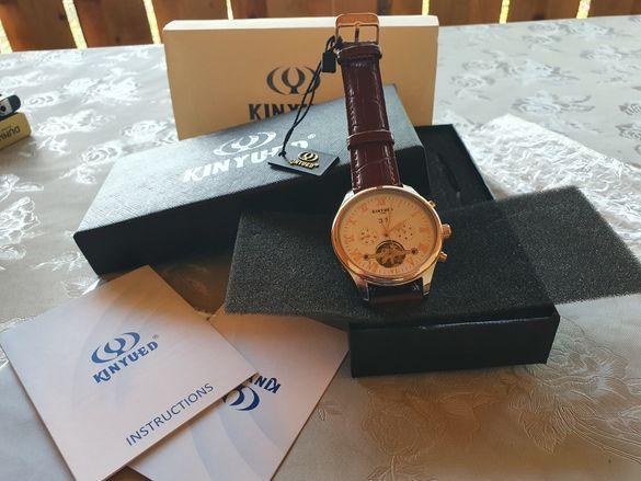 Продавам мъжки автоматичен часовник KINYUED