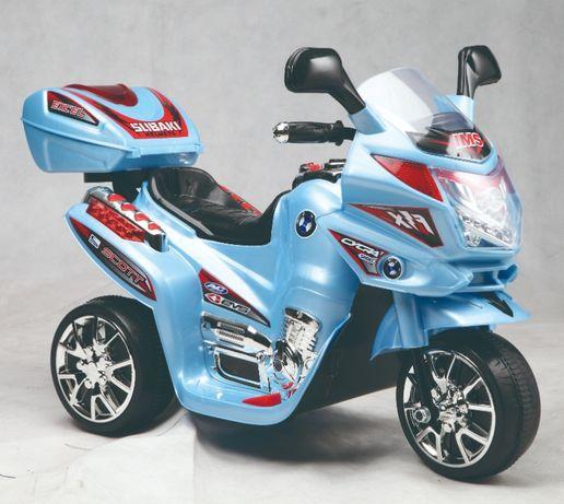 Mini Motocicleta electrica C051 35W cu 3 roti STANDARD #Albastru