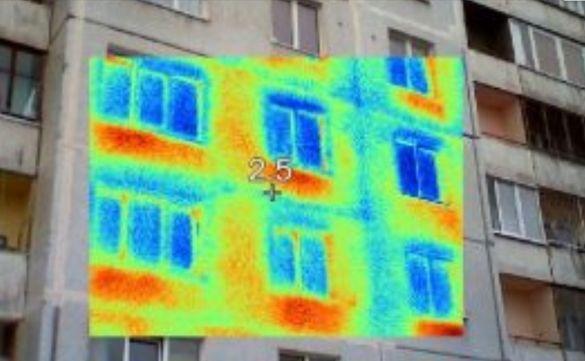 Заснемане с термографска камера-термовизия