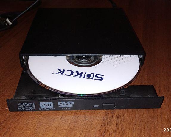 Внешний USB DVD-RW привод