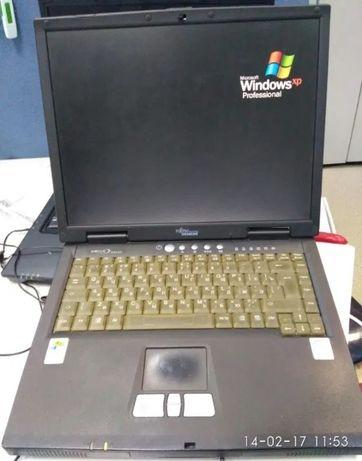 2 Ноутбука fujitsu siemens РАБОЧИЙ-(белый 17 000, черный 23 000)