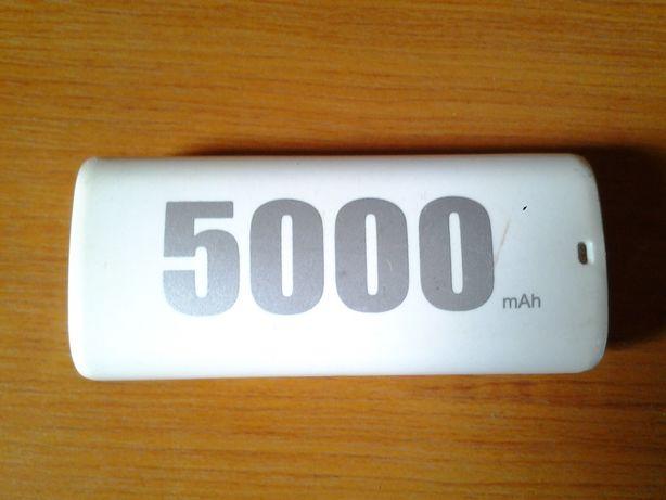 Proda Acumulator extern Power Bank 5000 mAh alb