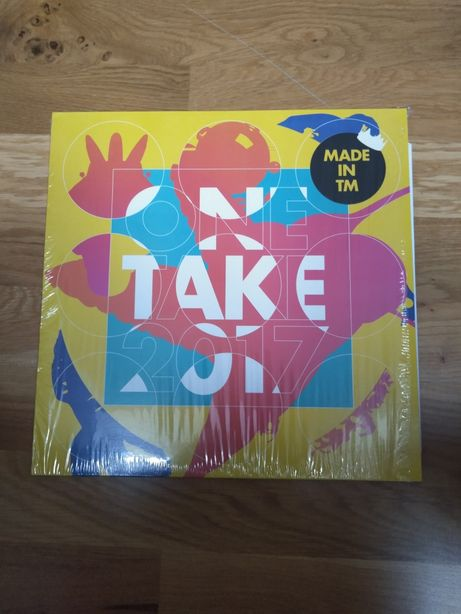 Disc SIGILAT/NOU vinil/vinyl One take 2017 (made in TM)