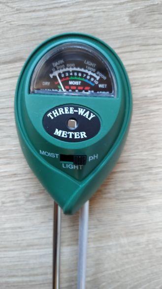 Уред за измерване състава на почвата Ph влага киселинност светлина