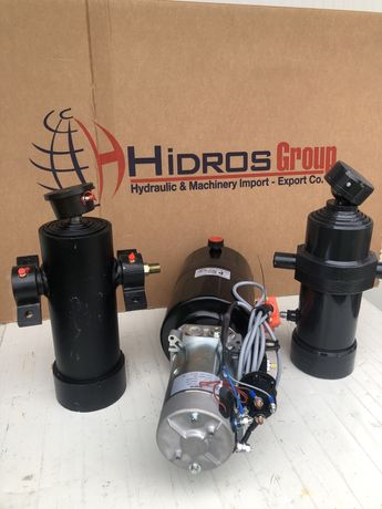 Kit basculare,cilindru basculare iveco,nissan,LT,remorca