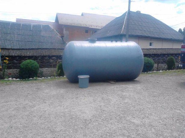 Bazin apa, rezervor vidanjabil, Fosa septica