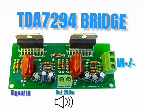 Modul Amplificare Audio TDA7294 BRIDGE/PUNTE Mono sau Stereo