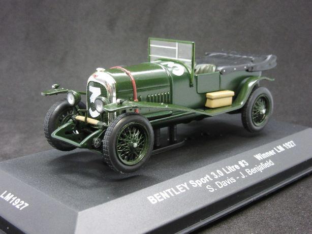Macheta Bentley Sport 3.0 Litre #3 Winner Le Mans 1927 IXO 1:43