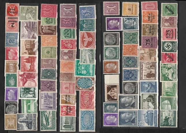 Lot 80 timbre state Germane nestampilate lot 6