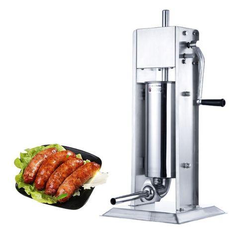 Пълначка за месо и колбаси 7литра и 5л Вертикални Пълначка чисто нови