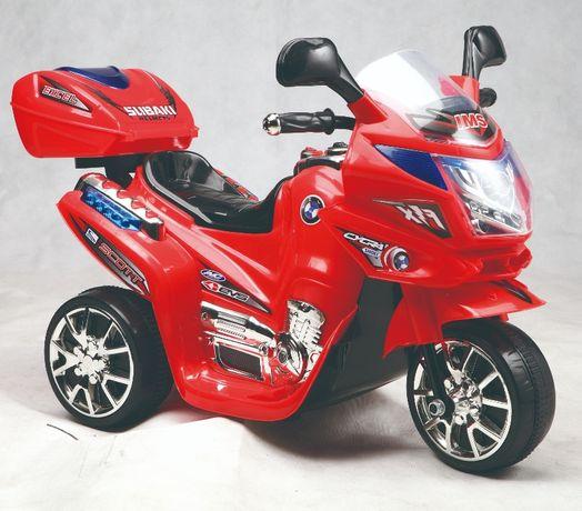 Mini Motocicleta electrica C051 35W cu 3 roti STANDARD #Rosu