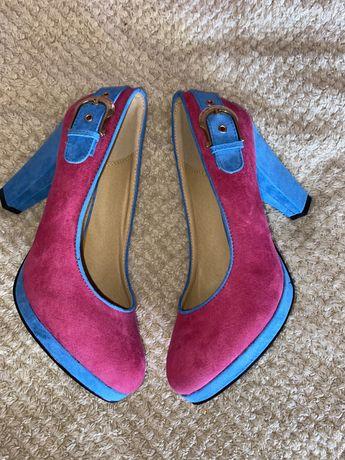 туфли, яркие