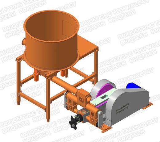 Presa brichetare BT-070-800Max brichete 600-800 kg/ora