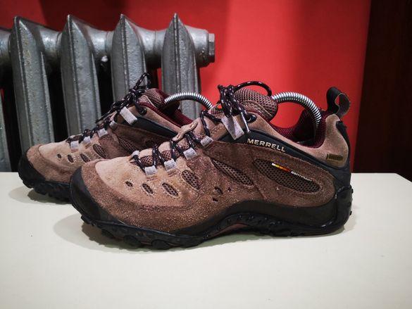 MERRELL туристически обувки,salomon, Jack Wolfskin