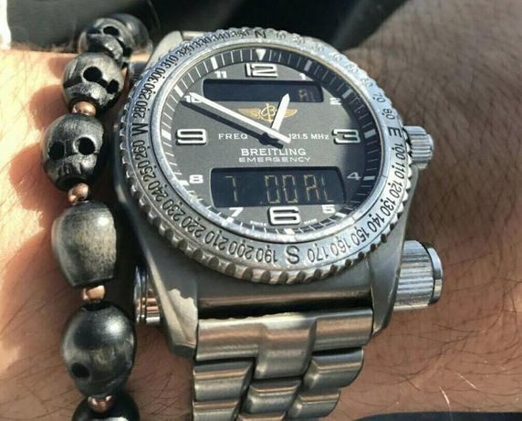 Breitling Emergency Titan 43mm Super Quartz