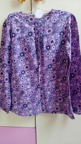 Bluza/Camasa fete 7-8 ani