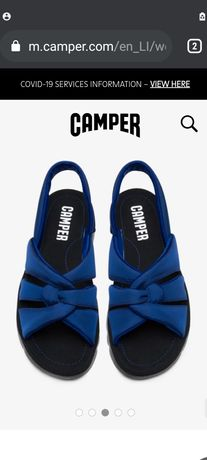 Camper Oruga сандали внос Англия 2021