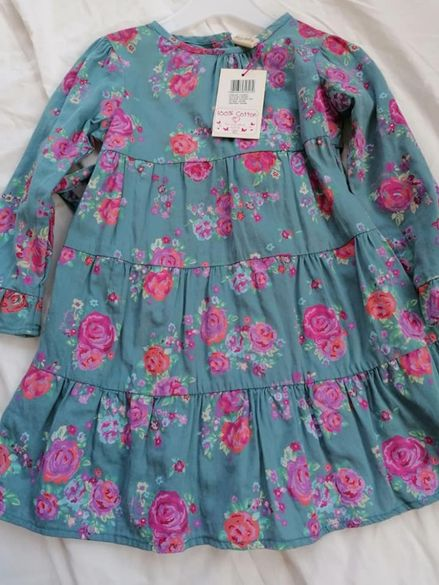 Празнична рокличка Sugar pink 18- 24м