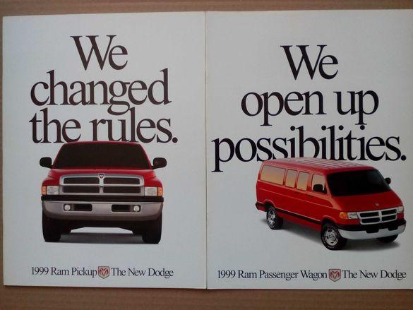 Колекционерски каталози книги списания брошури Dodge Chrysler Ram