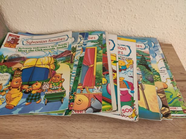 Reviste benzi desenate Sylvanian Families