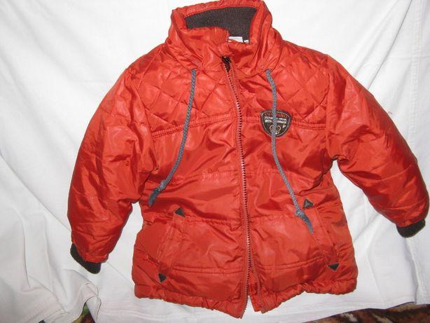 Куртка зимняя с комбинезоном на 1-2,5 года