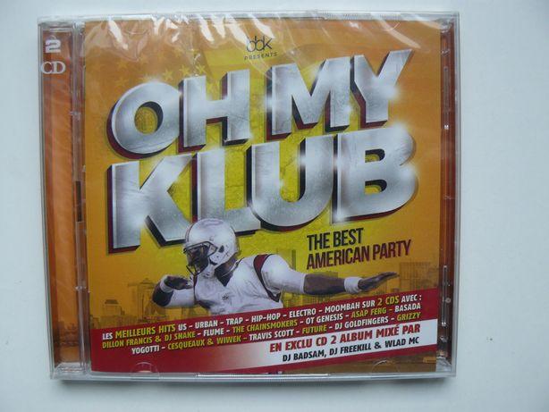 CD Compilatie OH MY KLUB - THE BEST AMERICAN PARTY, Original,Nou, 2 Cd