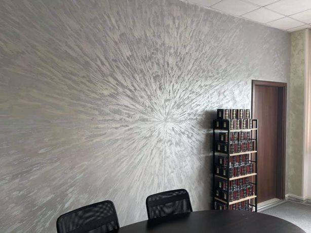 Vopsea decorativa efect metalic