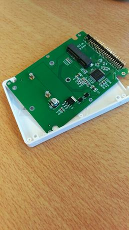 Продавам адаптер кутия за SSD диск mSATA към 2.5Inch PATA/IDE