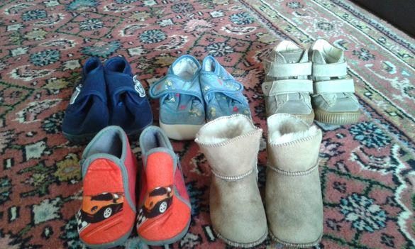 детски зимни пантофи и боти за момче